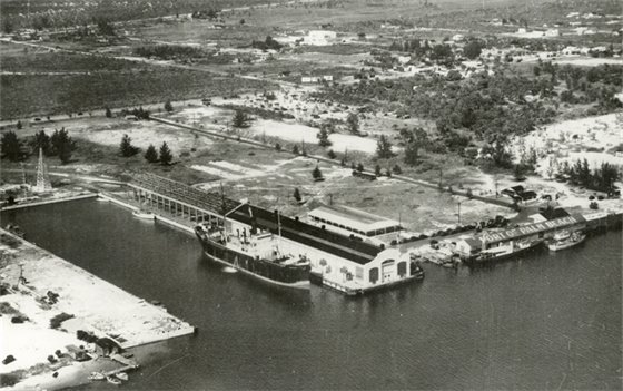 Port of Palm Beach, 1930